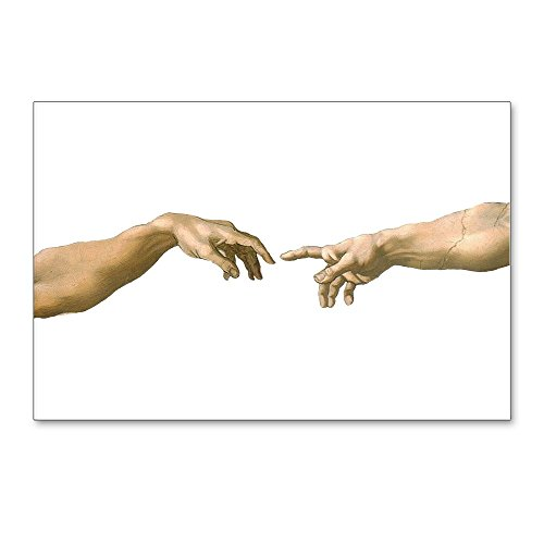 CafePress - Michelangelo Creation Of - Postcards (Package of 8), 6