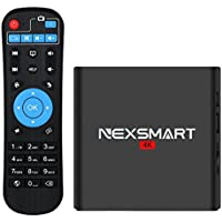 Android 6.0 TV Box NEXSMART D32 4K UHD Smart Media Player Quad-core Cortex A7 Mini Box Support 2.4GHz Wifi 3D Display