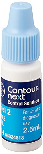Diagnostics Direct 7314 Contour Next Normal Control Solution, Level 2, 2.5 mL