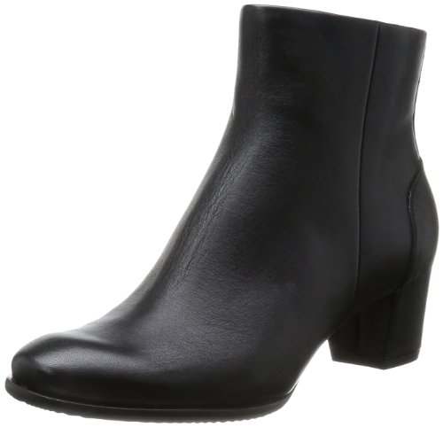 ECCO Women's Pailin,Black Leather,EU 42 M