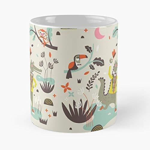 Alligator Crocodile Animal - Coffee Mugs Ceramic
