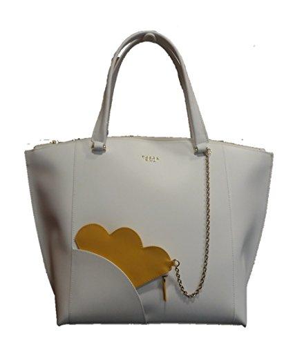 Women's Blu Shoulder Women's White Bianco Bag Tosca Blu Tosca wIqfzgf