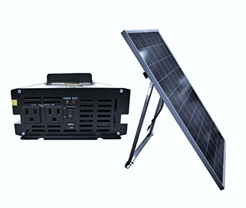 Ensupra SolarGen1KW 1000-watt Solar Power Generator with ...