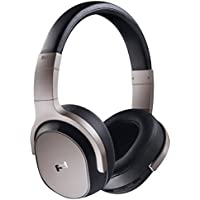 KEF Porsche Design SPACE ONE Over-Ear Bluetooth Wireless Active Noise Cancelling Headphones (Silver)