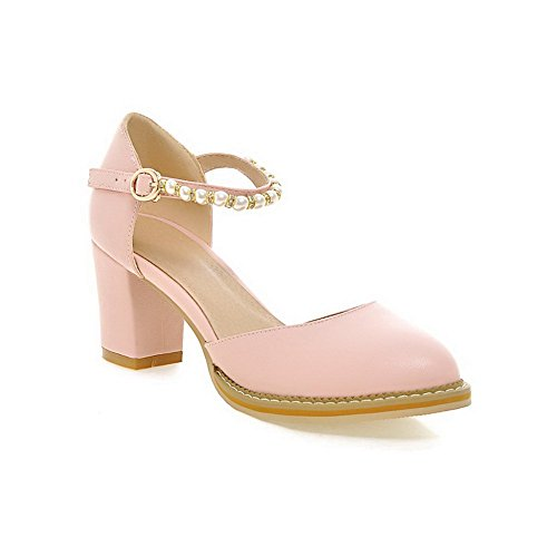 Balamasa Ladies Bead Scarpe-a-piedi Morbide Scarpe-materiale Rosa