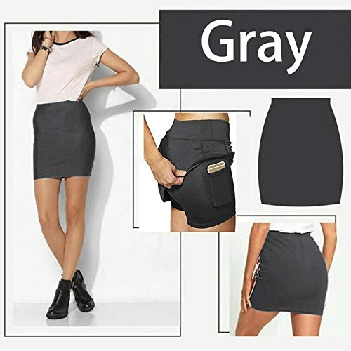 Skorts with Pocket Workout Pleated Anti-Chafing Breathable Casual for Women Lady Lishiny Womens Athletic Skorts