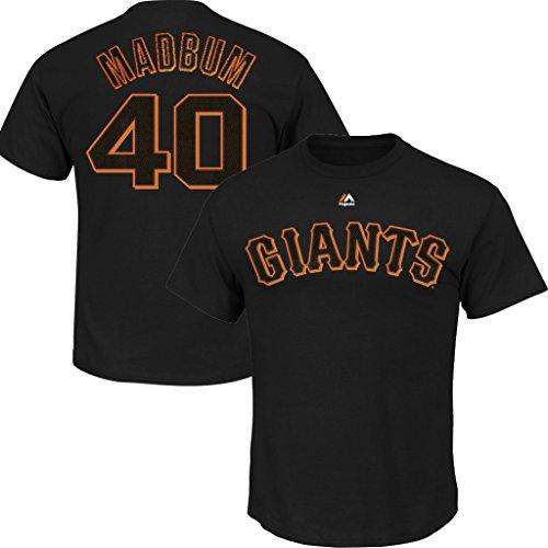 - VF San Francisco Giants MLB Mens Majestic Madbum Player Shirt Black Big & Tall Sizes (2XL)