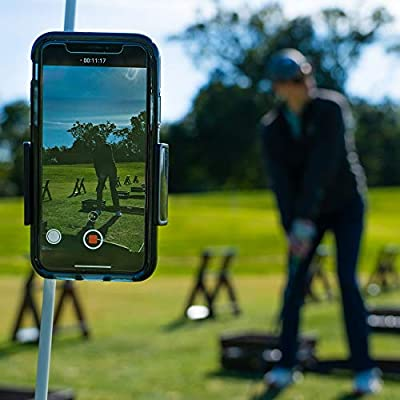 Golf Swing Trainer for Cell Phone   Record Golf Swing   Instant Feedback at Your Fingertips   Golf Gifts