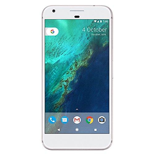 Google Pixel XL 128GB Silver (Unlocked) - (Renewed)