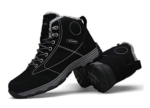 Además Zapatos Tamaño Martin Altas Para E 46 Negro Gran Otoño Invierno Botas Libre Al Algodón Glshi Terciopelo Senderismo Hombre 39 De Aire Calzado nHw4qgYX