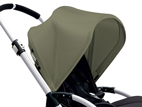Bugaboo Bee3 Sun Canopy, Dark Khaki (Stroller not included)