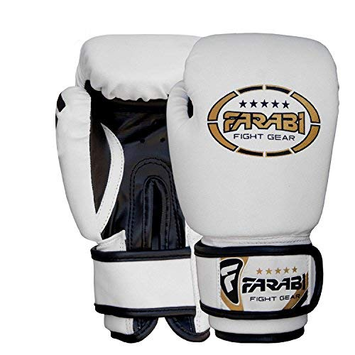 Farabi Kids Boxing Gloves Junior Mitts Junior Mma Kickboxing Sparring Gloves