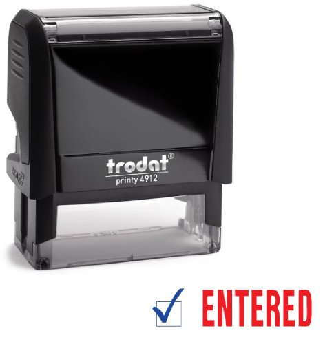 how to change the ink in a trodat 4850 stamp