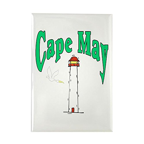 CafePress Cape May, New Jersey Rectangle Magnet, 2