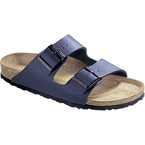 Birkenstock Unisex Arizona Blue Sandals - 9-9.5 B(M) US Women/7-7.5 D(M) US Men (Sandals Women Blue)