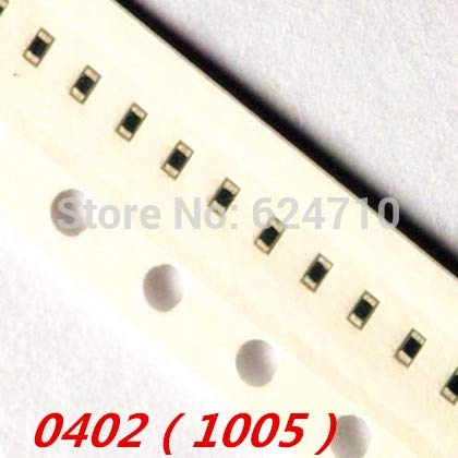 Maslin 5000pcs 0402 SMD Inductor Chip Inductors 1nH 1.2nH 1.5nH 1.8nH 2.2nH 2.7nH 3.3nH 3.9nH 4.7nH 5.6nH 6.2nH 8.2nH 10nH 12nH 15nH. - (Volume: 0402 (1005), Value of Resistance: 100nH)