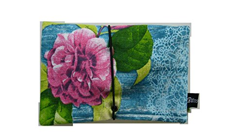 Büroteuse Tabaktasche / Drehertasche im Love Rose-Design, jede Tasche ein Unikat! Love Rose