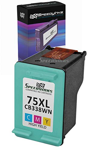 Cb338wn Hp 75xl Tri Color - Speedy Inks Remanufactured Ink Cartridge Replacement for HP 75XL High-Yield (Tri-Color)