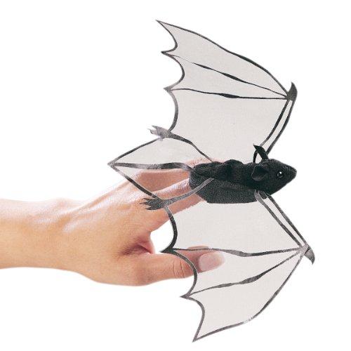 Folkmanis Mini Bat Finger Puppet]()