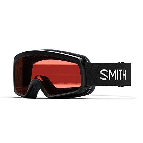 Smith Rascal Masque de Ski Mixte Enfant, Noir