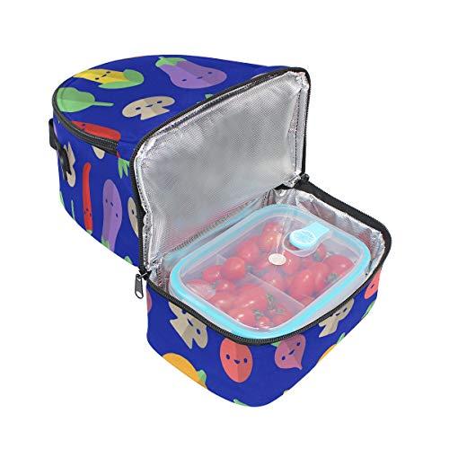 con para hombro el ajustable pincnic con verduras FOLPPLY correa aislamiento escuela la de para para de Bolsa almuerzo Xx7wUtfqt