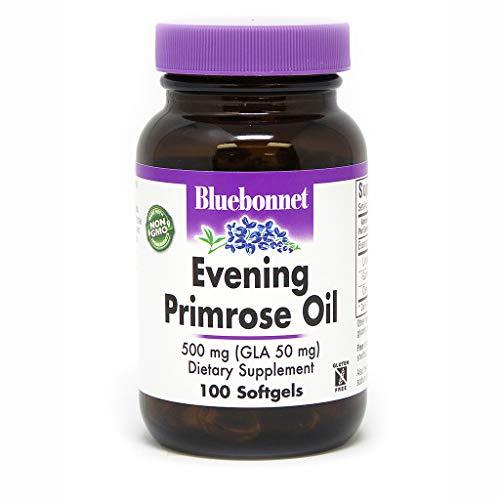 BlueBonnet Evening Primrose Oil Softgels, 500 mg, 100 Count