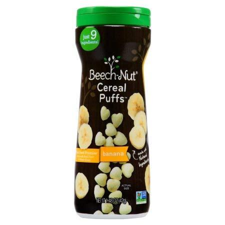 Beechnut Beech-nut Puffs Banana