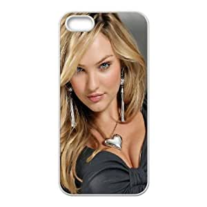 iPhone 5 5s Cell Phone Case White Beautiful Candice Swanepoel Hndxz