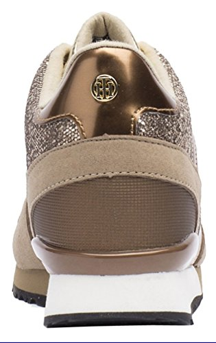 Tommy Hilfiger S1285ADY 13C1 GOLD FW56821995, Zapatillas deportivas, Mujer