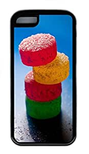 for iphone 5/5S Case Candy TPU for iphone 5/5S Case Cover Black