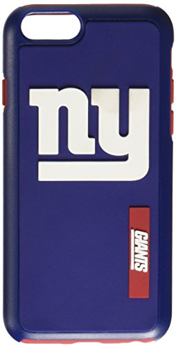 Forever Collectibles - Licensed NFL Cell Phone Case for Apple iPhone 6/6s - Retail Packaging - New York Giants