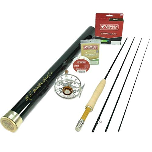 Winston Pure 480 Fly Rod Outfit : 4wt 8'0