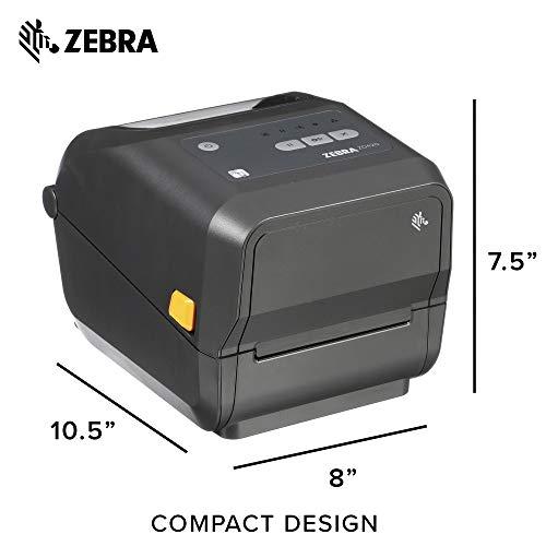 Zebra - ZD420d Direct Thermal Desktop Printer for Labels and Barcodes - Print Width 4 in - 203 dpi - Interface: USB, Ethernet - ZD42042-D01E00EZ by Zebra Technologies (Image #6)