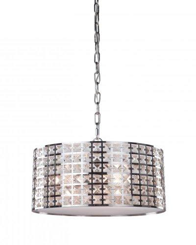 Artcraft Lighting Coventry 3-Light Chandelier, Chrome