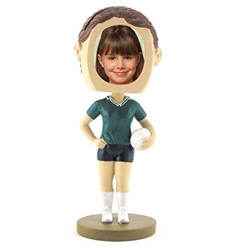 Female Volleyball Photo Bobble Head - Female Bobble Head