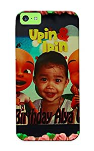 New Snap-on Hijackno Skin Case Cover Compatible With Iphone 5c- Upin Ipin Alya Qalesya