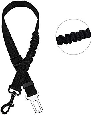 Amazon Com Xeminor Size Adjustable Dog Car Seat Belt Lead Safety