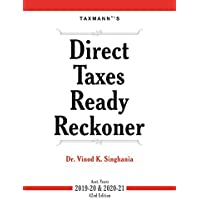 Direct Taxes Ready Reckoner (42nd Edition A.Y. 2019-20 & 2020-21)
