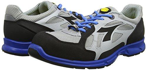 Diadora D-Flex Low S1P, Work Shoe Men grey Size: 14
