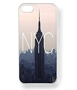 Case Cartel? NYC New York City Phone Case for iPhone 5 / 5S - Retail Packaging (White)