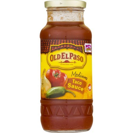 Amazon.com : PACK OF 12 - Old El Paso Medium Taco Sauce, 16 oz : Grocery & Gourmet Food