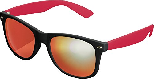 MSTRDS de Mixte 4689 Soleil Mirror Red Multicolore Likoma Mehrfarbig Lunettes Black Red tSrqgWSw