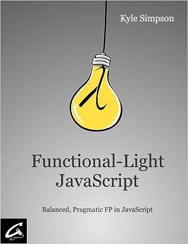 Functional Light JavaScript book cover