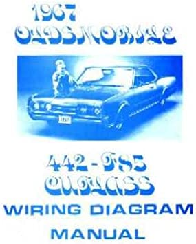 Amazon.com: 1967 OLDSMOBILE 442 CUTLASS F-85 Wiring Diagrams: Everything  ElseAmazon.com