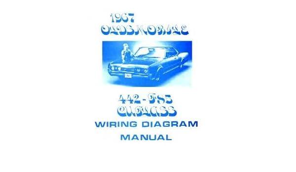 amazon com 1967 oldsmobile 442 cutlass f 85 wiring diagrams 1967 Oldsmobile Wire Diagram