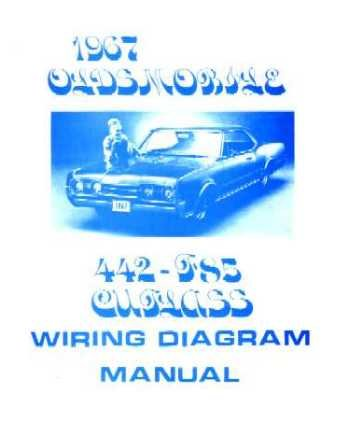 1967 OLDSMOBILE 442 CUTLASS F-85 Wiring Diagrams