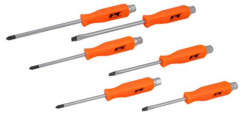 Performance Tool W1729 Strike Cap Screwdriver Set, 6 Piece ()