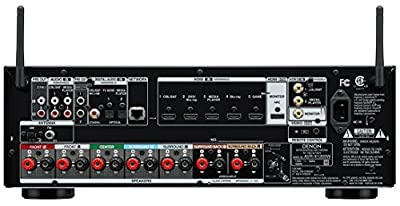 Denon AVR-X1200W 7.2 Channel Full 4K Ultra HD A/V Receiver with Bluetooth and Wi-Fi