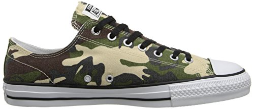 Converse Unisex All Star Pro Borsetta Scarpa Da Skate Pebble / Dark Earth / Erba Cipollina / Nero
