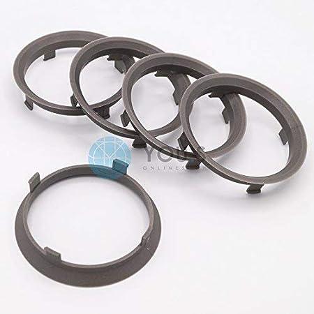 4 anelli di centraggio reduzierringe PER CERCHIONI 70,0 a 66,6 mm ALU ALUTEC Rial Anzio